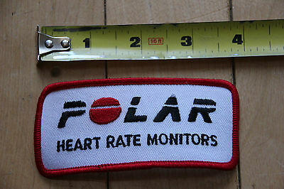 New Polar Heart Rate Monitors Red Patch for Jacket / Pants / Bag / Other Clothes