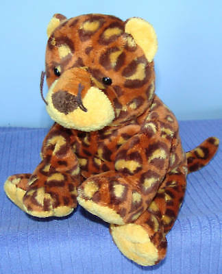 Ty Pluffies Pokey Retired Leopard Vhtf  ~ Df