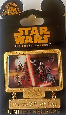 Star Wars The Force Awakens PremEAR At Sea Disney Cruise Line Pin Limited Releas