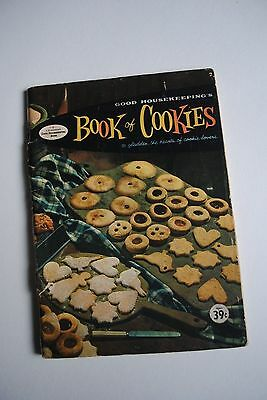 Vintage Good Housekeeping's Book Of Cookies Recipes Cook Book Plus Extra Recipes
