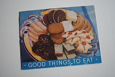 1938 Good Things To Eat Vintage Baking Soda Advertisment Cookie Recipe Booklet