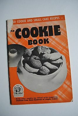 1941 The Cookie Book Published for Culinary Arts Institute Cook Book Recipes
