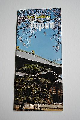 Vintage Brochure Your Guide To Japan With Map Pamphlet Travel International