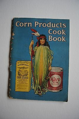 Vintage Corn Products Cook Book Advertisment Karo Syrup Kingsford Starch Recipes