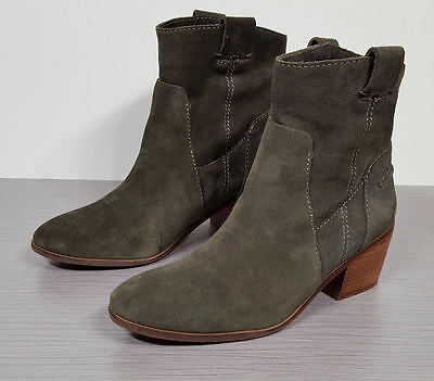 687f2e2f86d Vince Camuto  Maves  Bootie Army Green Womens Size 8.5   38.5