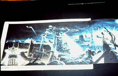 LOT 1: THE TERMINATOR - James Cameron pre-production art - 35mm color slide