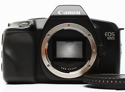 Canon EOS 850 35mm SLR Film Camera Body Only Fully Operational
