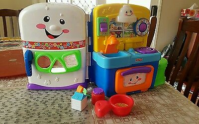 fisher price laugh and learn kitchen