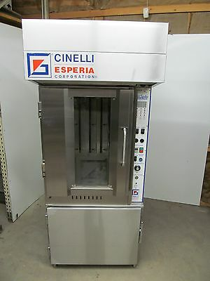 Cinelli  Oven / Proofer With Self Contained Hood,  Steam Injection !!