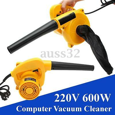 220V 600W Electric Hand Operated Air Blower for Cleaning Computer Vacuum Cleaner
