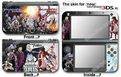 Fire Emblem Fates Super Cool Skin Sticker Decal Cover #1 for NEW Nintendo 3DS XL