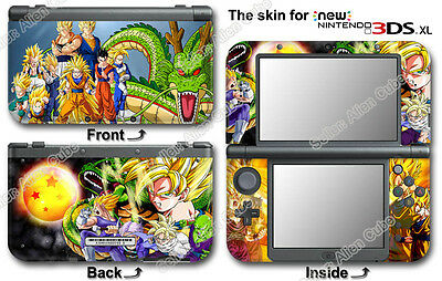 Dragon Ball Z Amazing Vinyl Skin Sticker Decal Cover #1 for NEW Nintendo 3DS XL