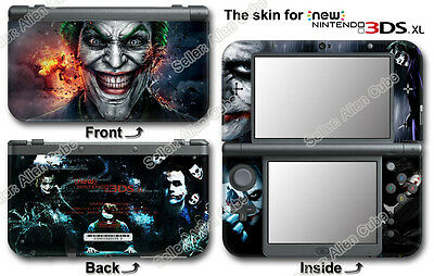 Joker Super Cool Vinyl Skin Sticker Decal Cover #1 for NEW Nintendo 3DS XL