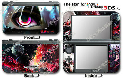 Tokyo Ghoul - Kaneki Ken Super Cool Skin Sticker Cover Decal #1 for NEW 3DS XL