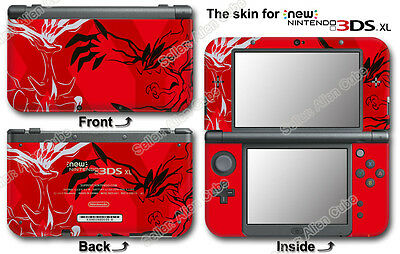 Pokemon Pikachu X Y XY Limited Edition Skin Sticker Decal #2 for NEW 3DS XL