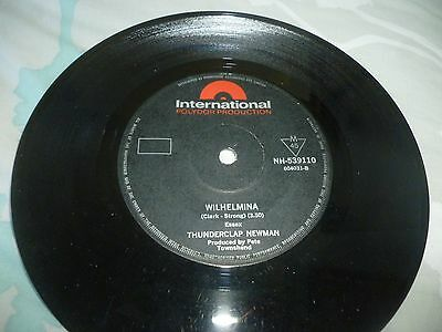 The Who-Pictures Of Lily-Single Record