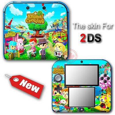 Animal Crossing New Leaf Amazing SKIN VINYL STICKER DECAL COVER for Nintendo 2DS