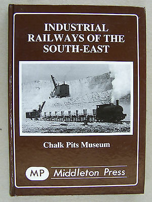 """industrial Railways Of The South-East."" Locomotives Book."