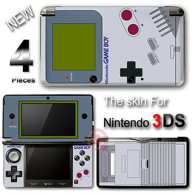 Original GAME BOY Classic Edition SKIN STICKER DECAL COVER for Nintendo 3DS