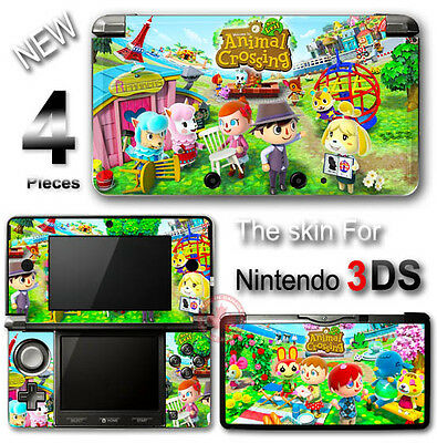 Animal Crossing New Leaf Cute SKIN VINYL STICKER DECAL COVER #2 for Nintendo 3DS
