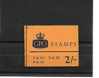 GB 1968 July 2/- Stitched Stamp Booklet - NP28