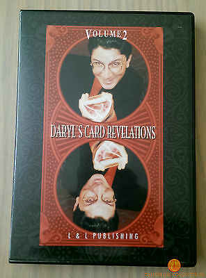 Daryl's Card Revelations Volume 2 - Magic Trick DVD - 30 Methods