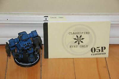 Unique Dean Lanos Sphinx Mech Mechwarrior Clix Stormhammers Faction