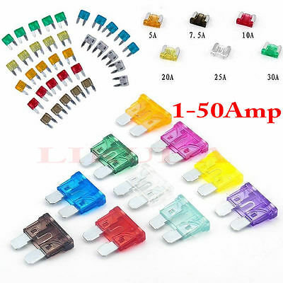 NEW 10pcs ATC Fuse Auto Car/Boat/Truck Blade 9V-32V 19mm*19mm fuses Holder au