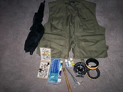 Fly fishing tackle ( used )