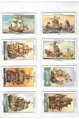 Mills - Famous British Ships (Series 1) - Full Set In Plastic Sleeves - 1952