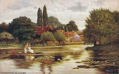 POSTCARD   CAVERSHAM   ON  THAMES      Tuck