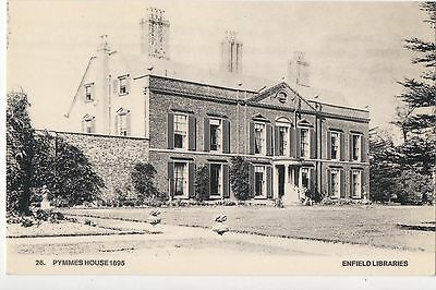 POSTCARD  MIDDLESEX   ENFIELD  Pymmes House
