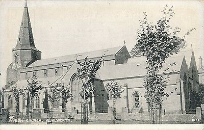 POSTCARD  LEAMINGTON  Parish  Church