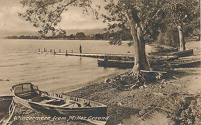 POSTCARD WINDERMERE   from  Miller Ground