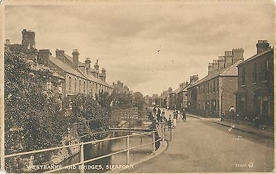 POSTCARD  SLEAFORD  Westbanks and Bridges