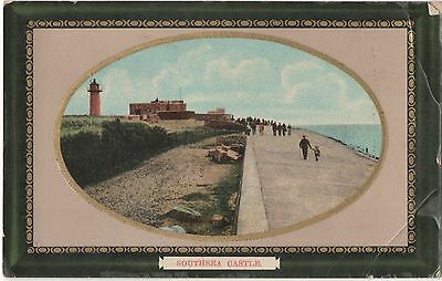 Postcard  Hampshire  Southsea Castle
