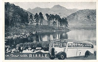 POSTCARD  ADVERTISING  RIBBLE   On   Tour