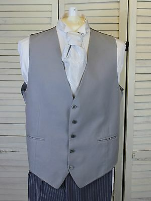 Quality Mens Wedding Or Formal Grey Waistcoat 36 38 40 42 44 46 48 50 52