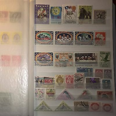 LIBERIA Mixed Selected Stamps (No 967)