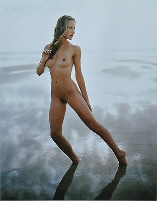 Jock Sturges Original XXL Photo Kunstdruck Art Print 73x67 Nude Woman Girl Water