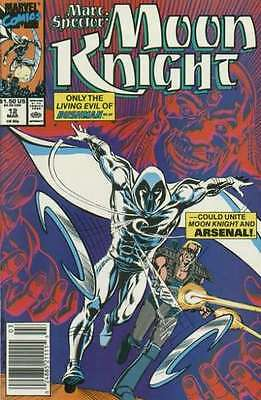 Marc Spector: Moon Knight #12 in Near Mint condition. FREE bag/board