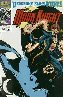 Marc Spector: Moon Knight #49 in Near Mint condition. FREE bag/board