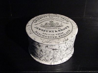 Jewsbury & Brown Oriental Tooth Paste Pot Manchester (Large Size) Mint
