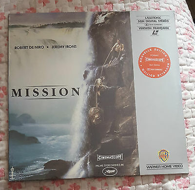 Mission Laserdisc Neuf Blister D'origine Vf Pal New Sealed