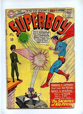 Superboy #125 - DC 1965 - Silver Age - FR/GD - Legion of Super-Heroes Cameo