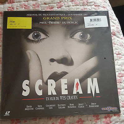 Scream Laserdisc  Neuf Blister D'origine Vf Pal New Sealed