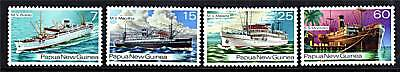 Papua New Guinea 1976 Ships of the 1930s SG 297/300 MNH