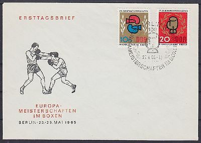 DDR FDC 1100 - 1101 mit SST Berlin Box WM 27.04.1965, first day cover