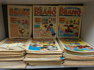 Huge Collection Of 'The Beano' Comics - 270 Comic Collection! (ID:42236)