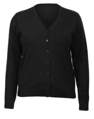 New M&S Women knitted black cardigan Marks and Spencer size 22